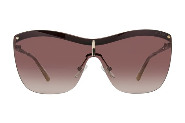 GUESS GU 7471 Gold Sunglasses