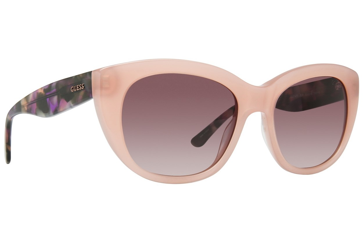 GUESS GU 7477 Pink Sunglasses