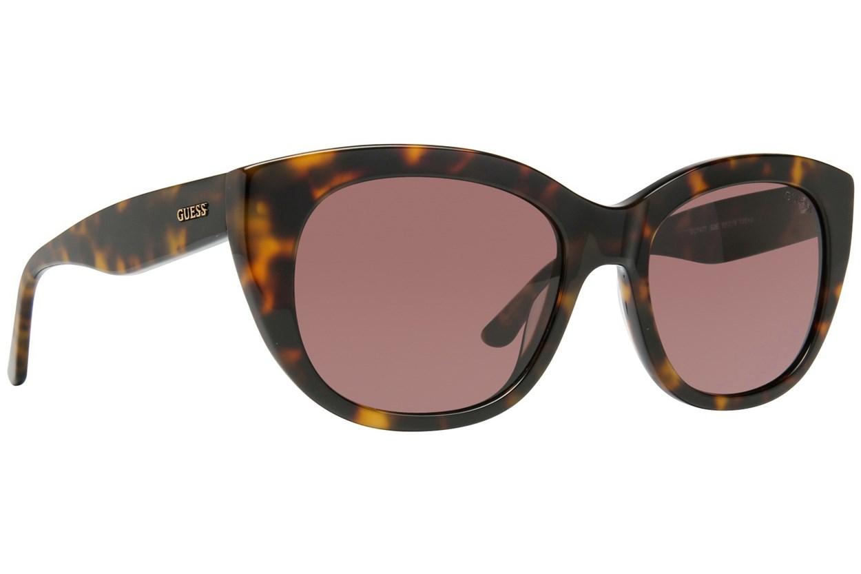 GUESS GU 7477 Tortoise Sunglasses