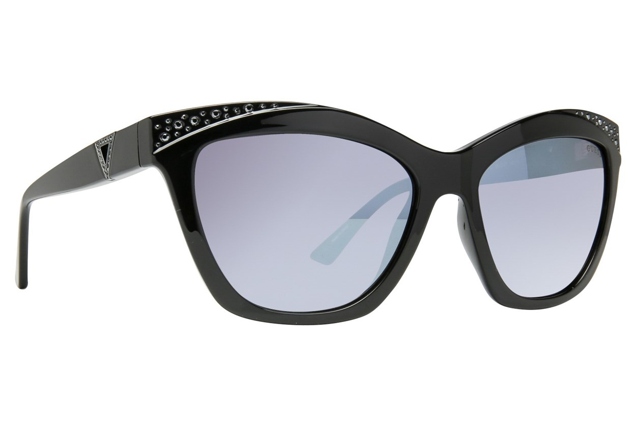 GUESS GU 7479-S Black Sunglasses
