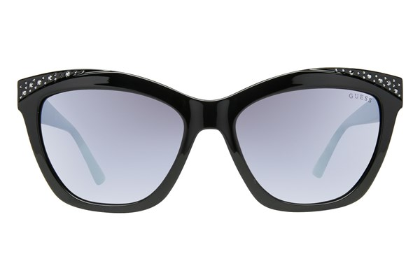 GUESS GU 7479-S Sunglasses - Black