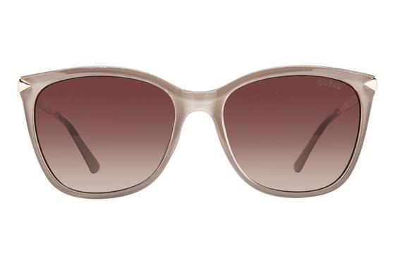 GUESS GU 7483 Tan Sunglasses