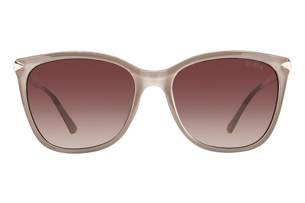 GUESS GU 7483 Tan Sunglasses