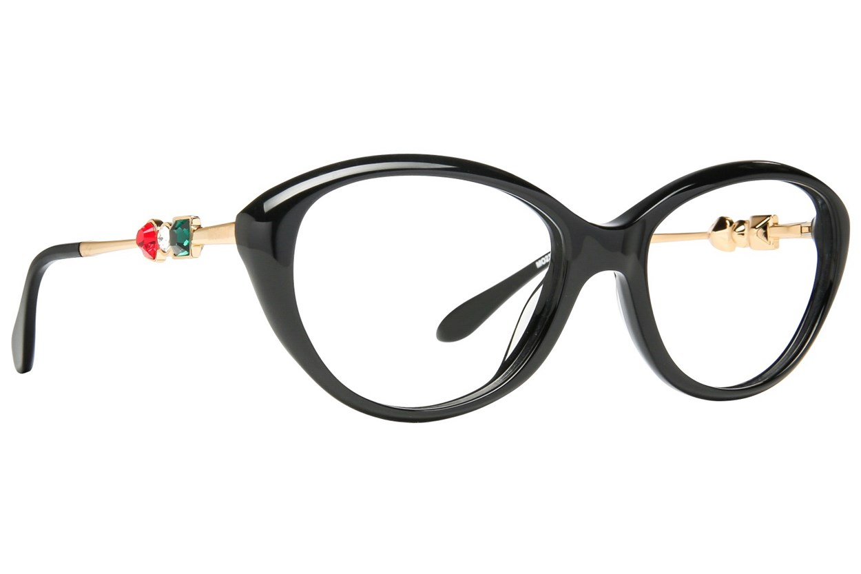 Moschino MO233V Black Eyeglasses