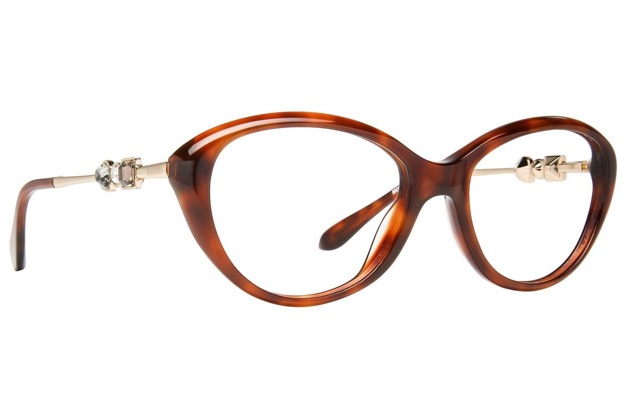 Moschino MO233V Tortoise Eyeglasses