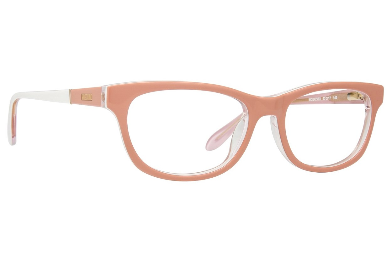 Moschino MO242V Pink Eyeglasses