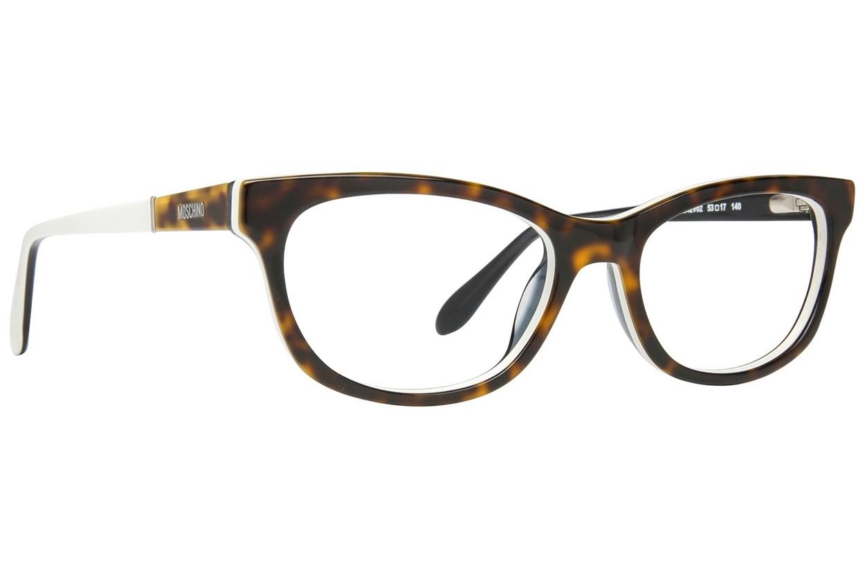 Moschino MO242V Tortoise Eyeglasses
