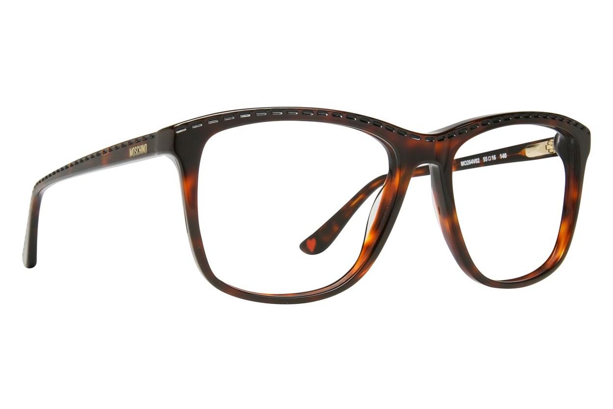 Moschino MO264V Tortoise Eyeglasses