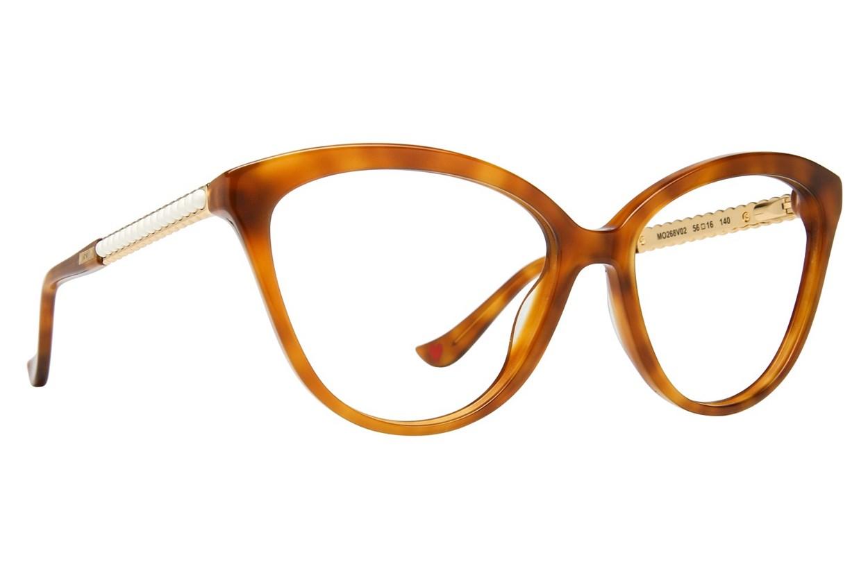 Moschino MO268V Tortoise Eyeglasses