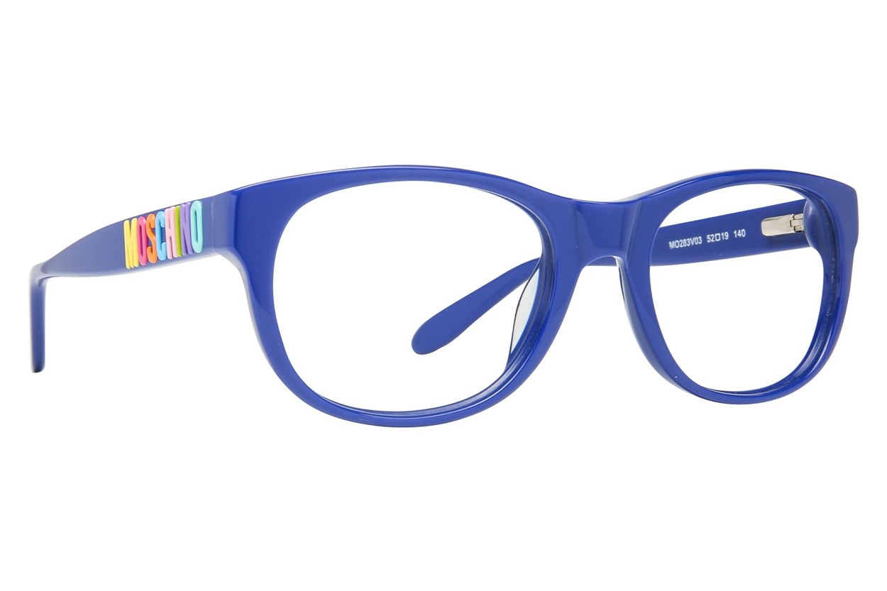 Moschino MO283V Blue Eyeglasses