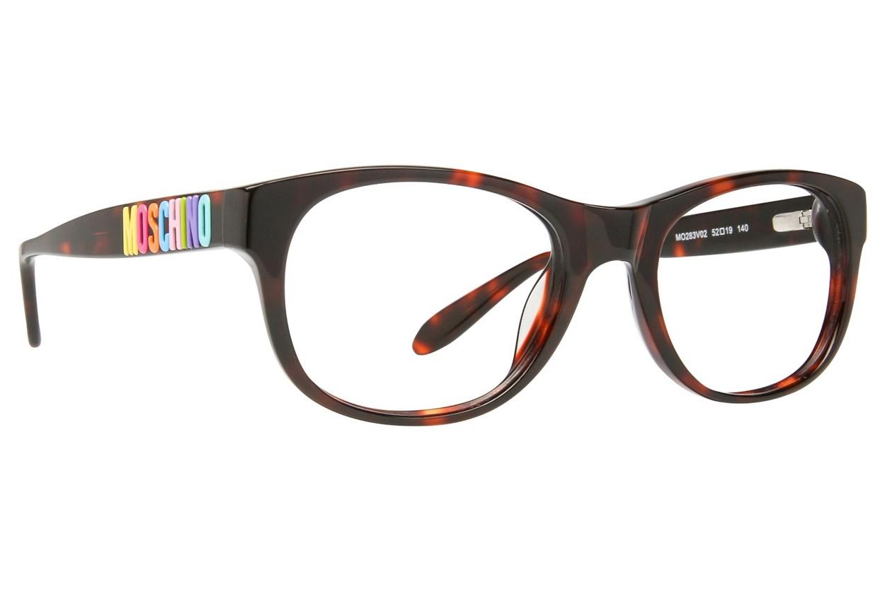 Moschino MO283V Tortoise Eyeglasses
