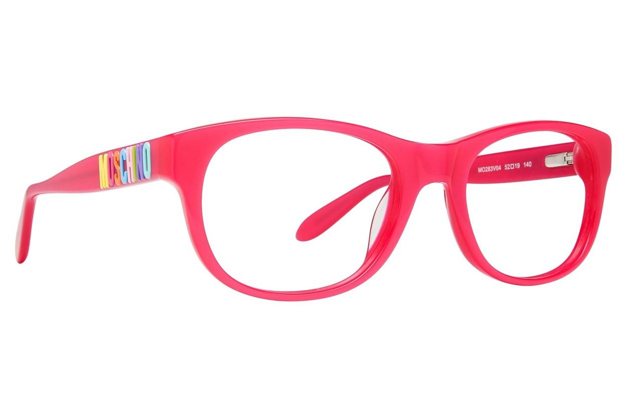 Moschino MO283V Pink Eyeglasses