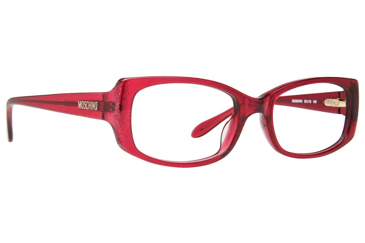 Moschino MO285V Red Eyeglasses