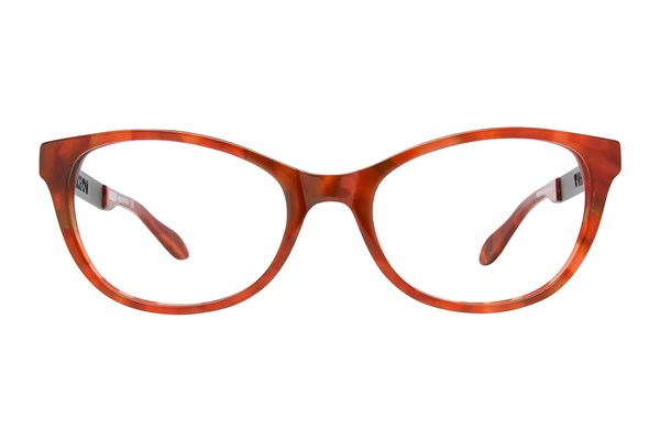 Moschino MO288V Red Eyeglasses