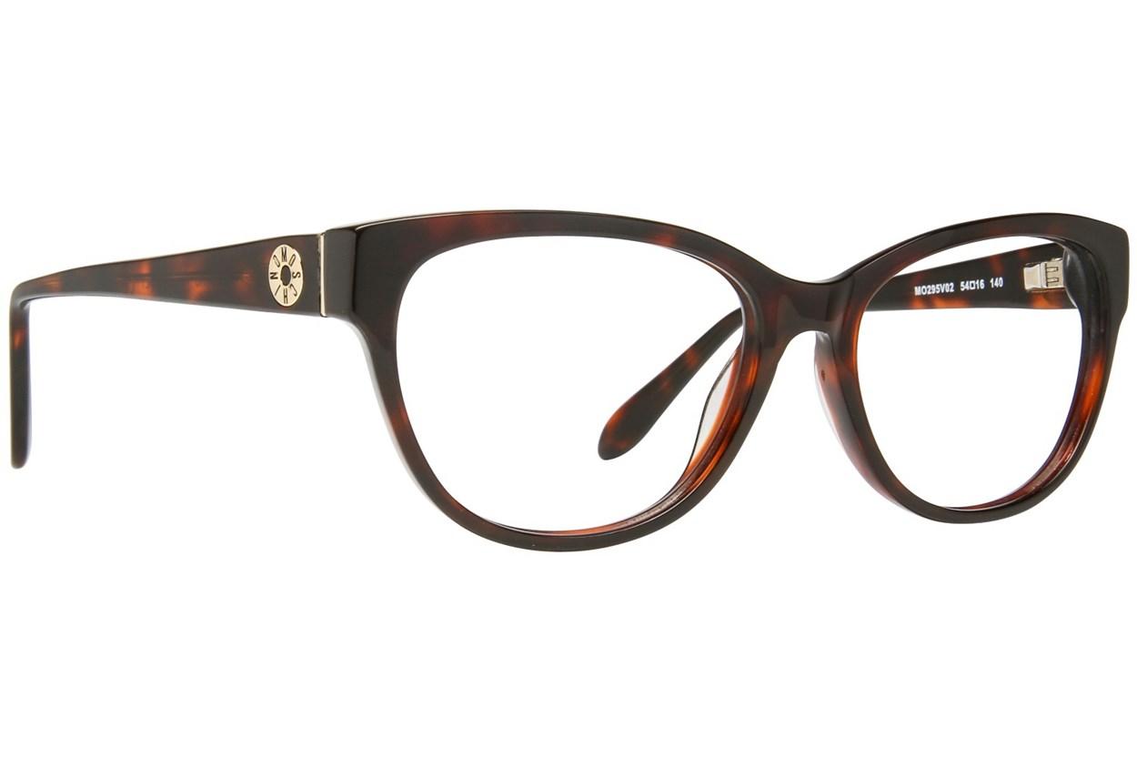 Moschino MO295V Tortoise Eyeglasses