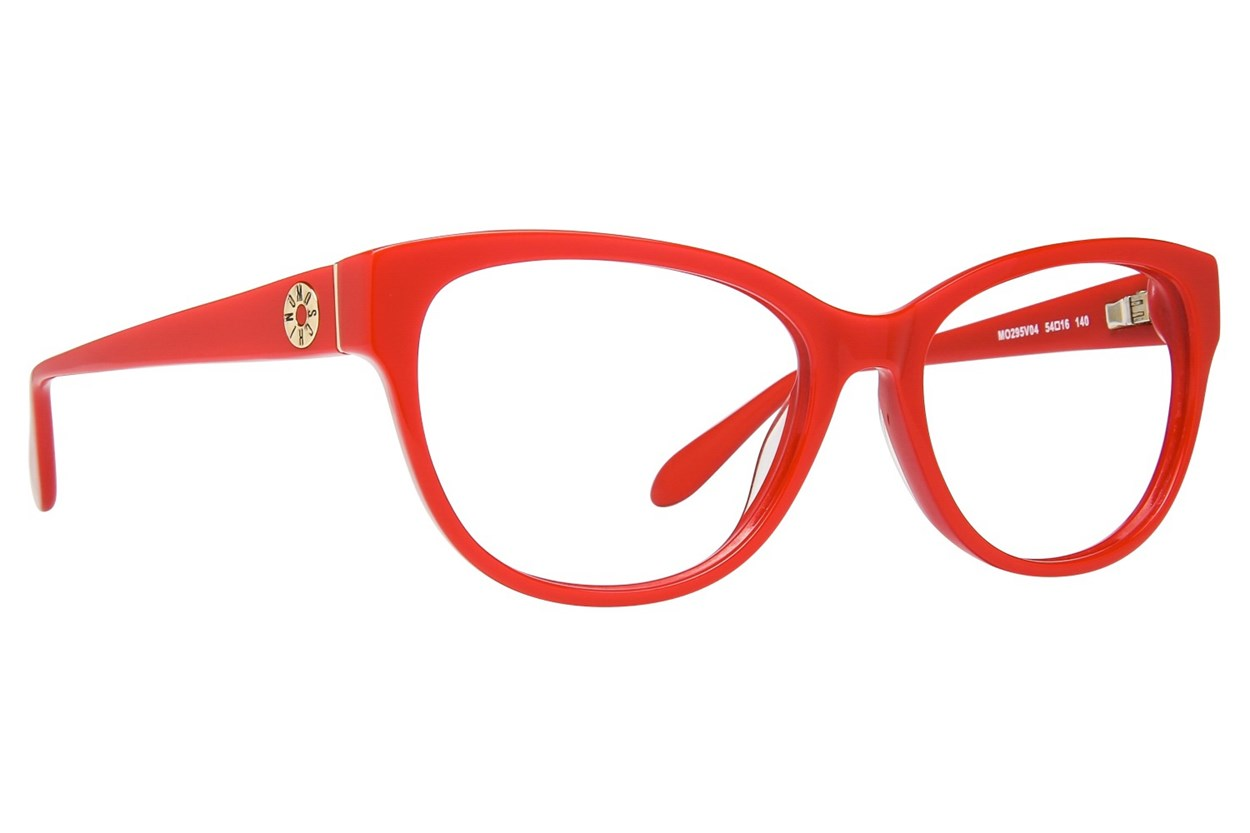 Moschino MO295V Red Eyeglasses