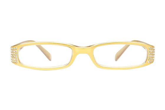 Eye Candy Sophisticated Specs Gold Reading Glasses Gold ReadingGlasses