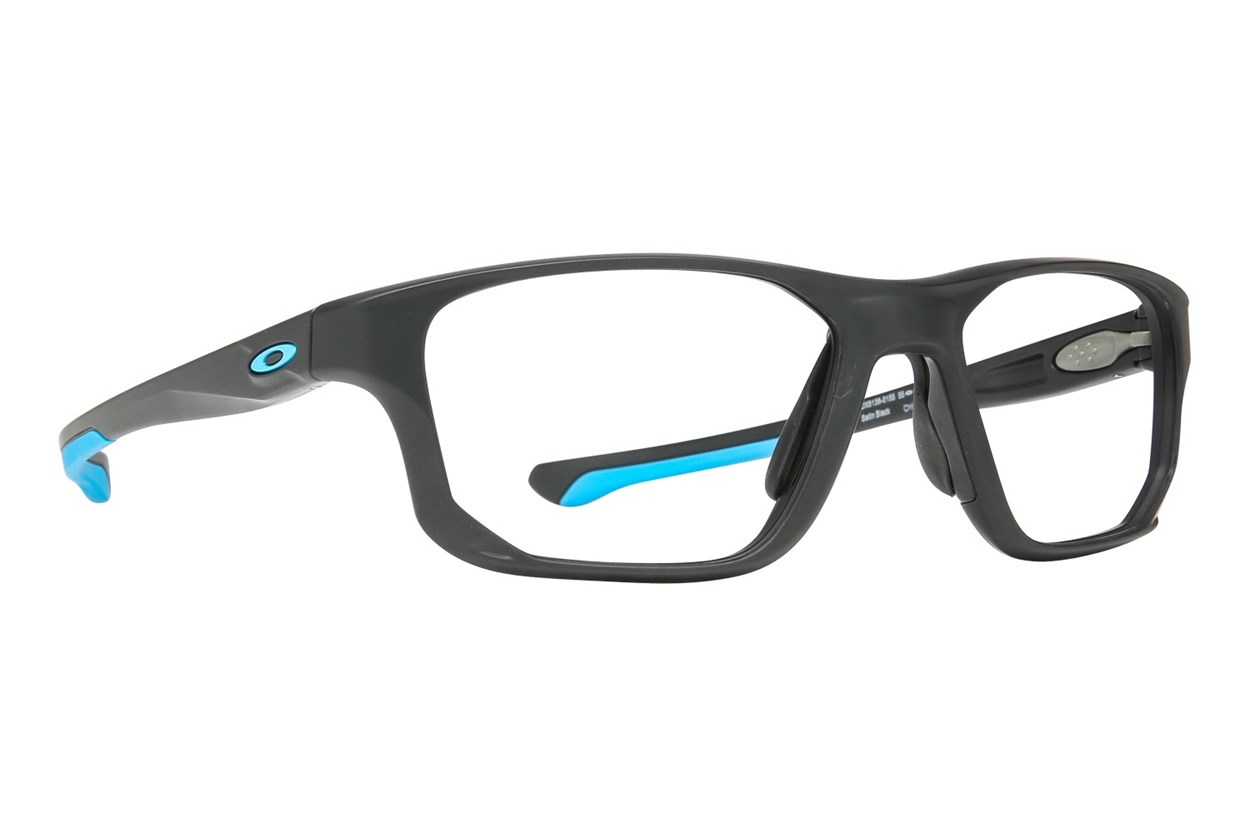 Oakley Crosslink Fit (55) Black Eyeglasses