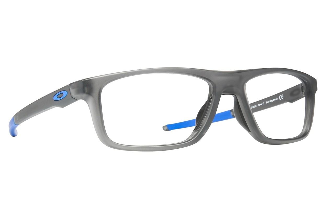 Oakley Pommel (55) Gray Eyeglasses
