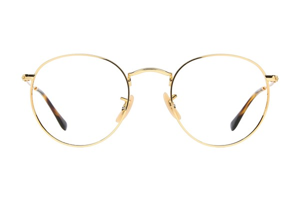 Ray-Ban® RX3447V Eyeglasses - Gold