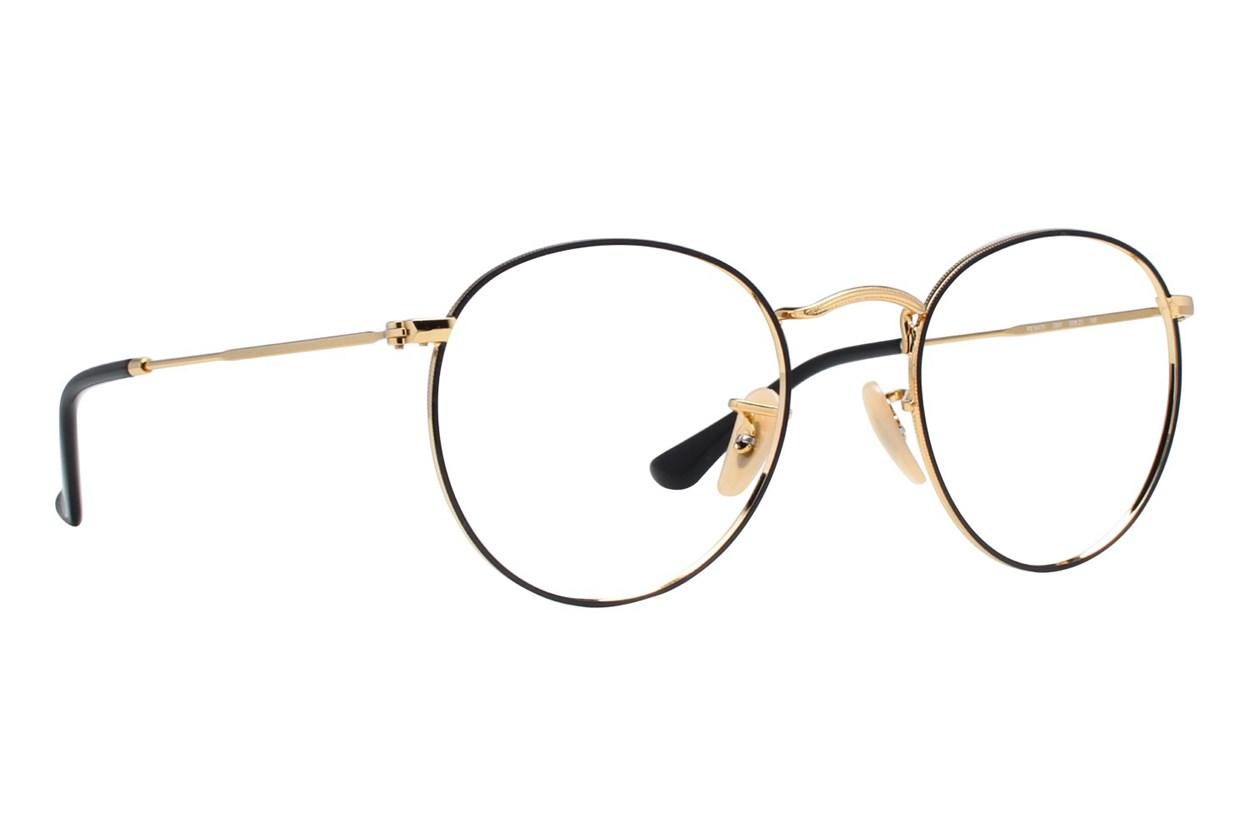 Ray-Ban® RX3447V Gold Eyeglasses