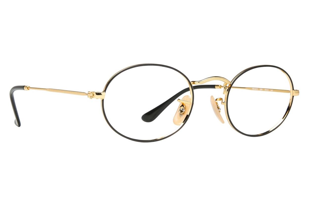 Ray-Ban® RX3547V Gold Eyeglasses