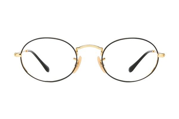 Ray-Ban® RX3547V Gold Eyeglasses