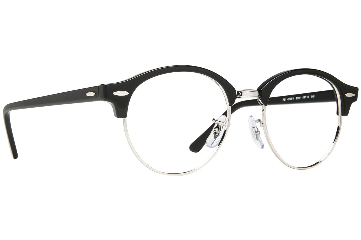 Ray-Ban® RX4246V Black Eyeglasses
