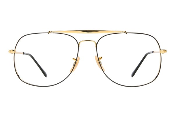 Ray-Ban® RX6389 Eyeglasses - Gold