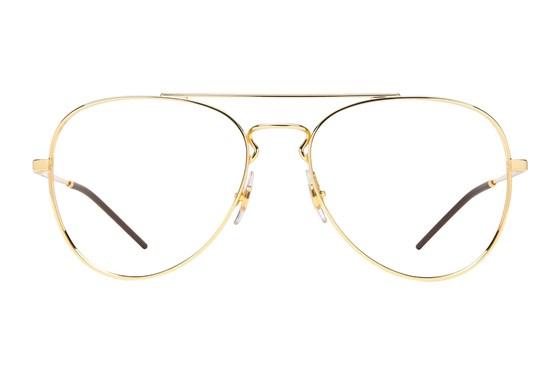 Ray-Ban® RX6413 Gold Eyeglasses
