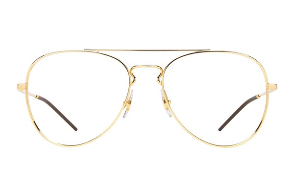 Ray-Ban® RX6413 Eyeglasses - Gold