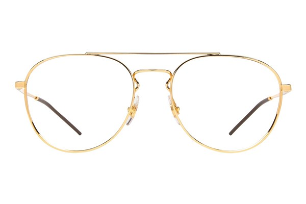 Ray-Ban® RX6414 Gold Eyeglasses