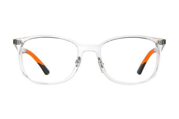 Ray-Ban® RX7142 Clear Eyeglasses