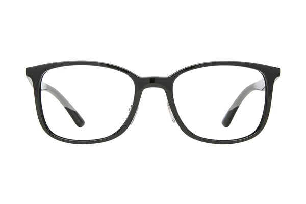 Ray-Ban® RX7142 Black Eyeglasses