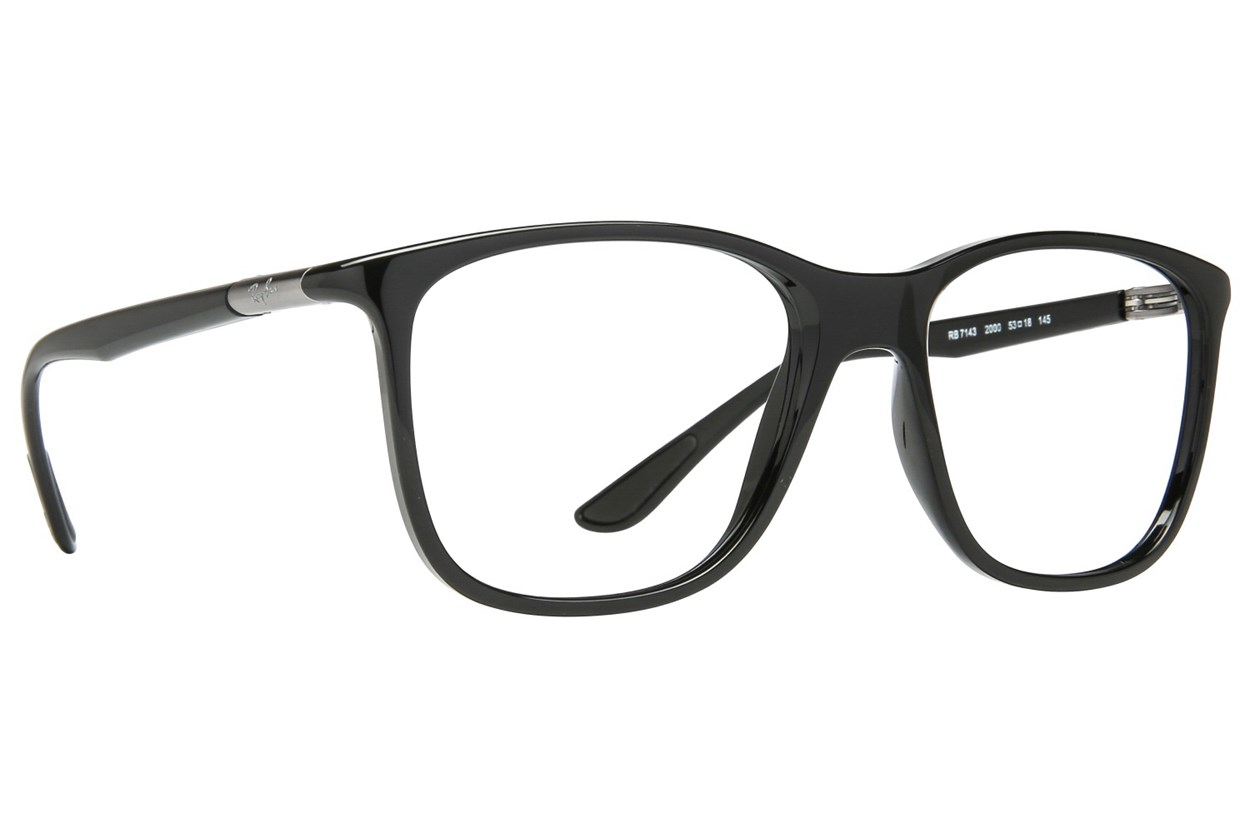 Ray-Ban® RX7143 Eyeglasses - Black