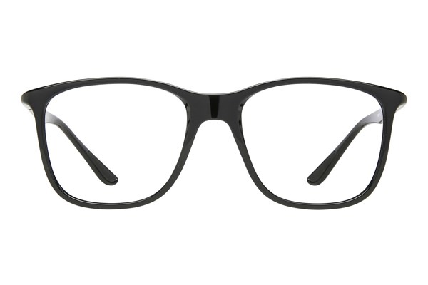 Ray-Ban® RX7143 Black Eyeglasses