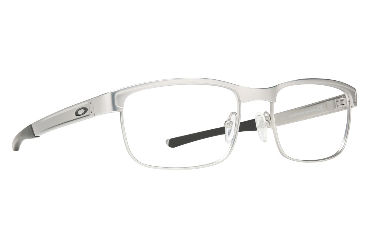 Oakley Surface Plate (54) Silver Eyeglasses