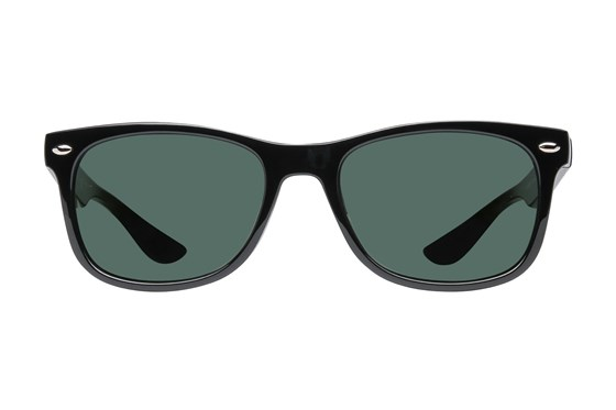 Ray-Ban® Youth RJ9052S New Wayfarer Junior Black Sunglasses