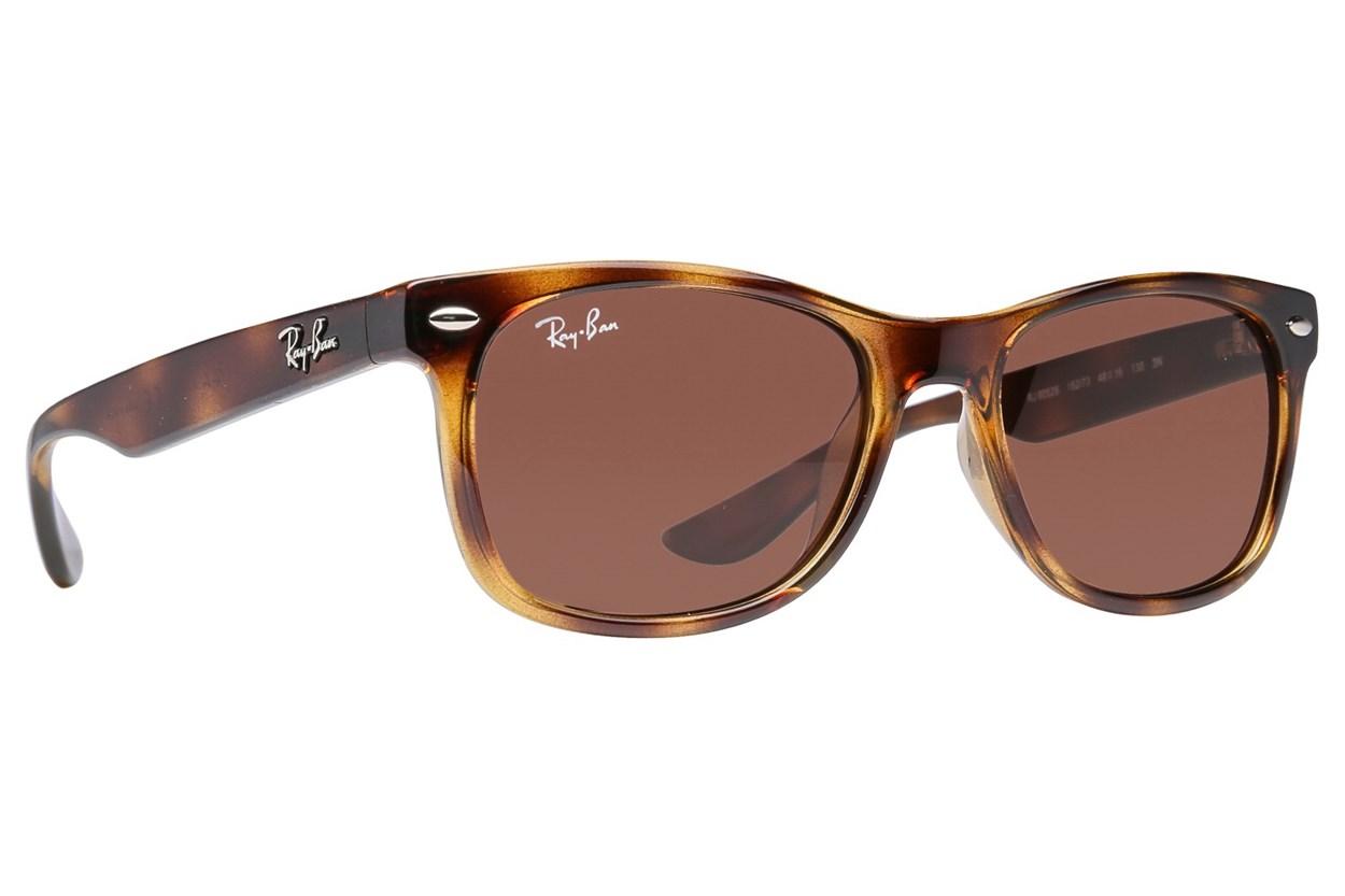 Ray-Ban® Youth RJ9052S New Wayfarer Junior Tortoise Sunglasses