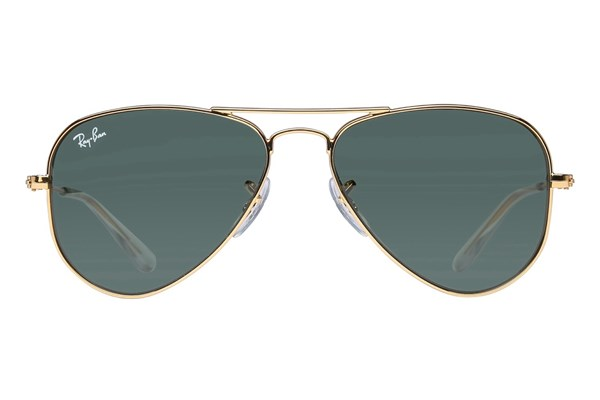 Ray-Ban® Youth RJ9506S Aviator Junior Gold Sunglasses