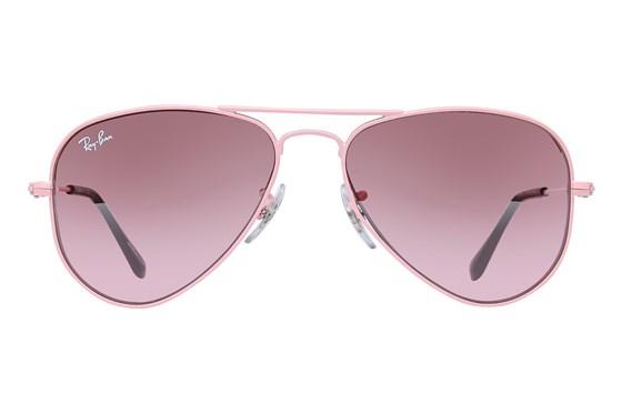Ray-Ban® Youth RJ9506S Aviator Junior Pink Sunglasses