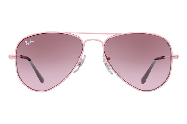 Ray-Ban® Youth RJ9506S Aviator Junior Pink Sunglasses