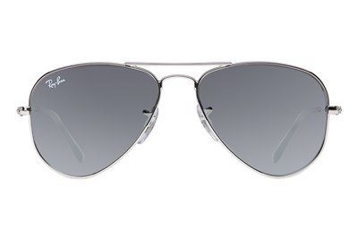 Ray-Ban® Youth RJ9506S Aviator Junior Mirror Silver