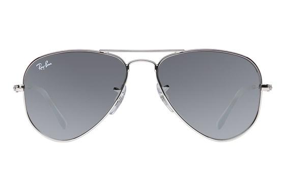 Ray-Ban® Youth RJ9506S Aviator Junior Mirror Silver Sunglasses