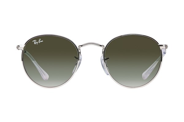 Ray-Ban® Youth RJ9547S Round Metal Junior Sunglasses - Silver