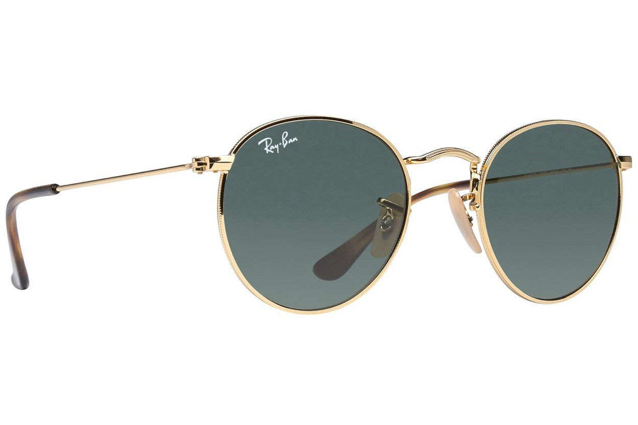 Ray-Ban® Youth RJ9547S Round Metal Junior Gold Sunglasses