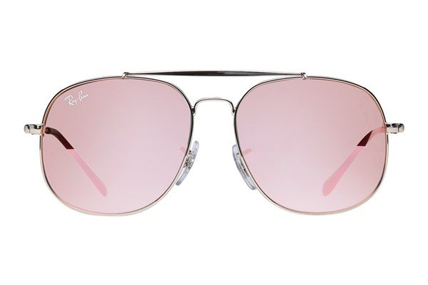 Ray-Ban® Youth RJ9561S General Junior Silver Sunglasses