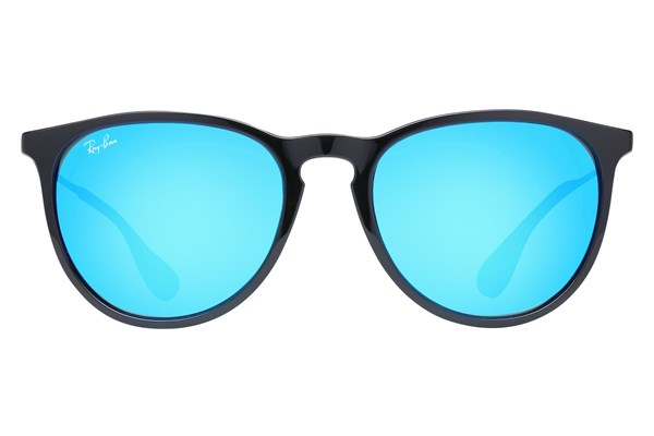 Ray-Ban® RB4171 Erika Mirror Black Sunglasses
