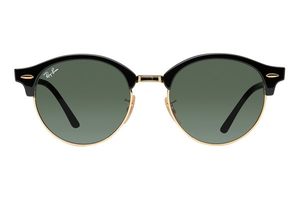 Ray-Ban® RB4246 Clubround Black Sunglasses