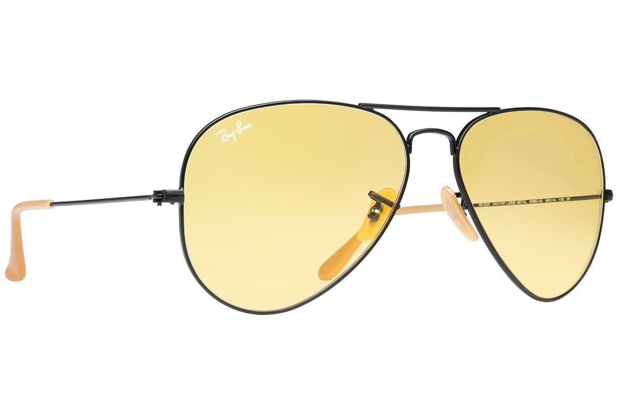 Ray-Ban® RB3025 Evolve Aviator Black Sunglasses